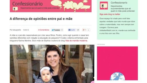 confessionario bebe.com.br