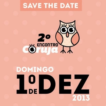Save the date - encontro coruja